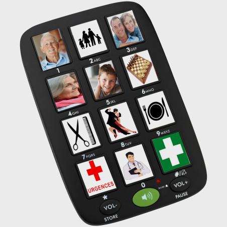 Mémo phone à grosses touches