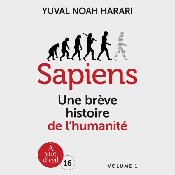 Livre gros caractères - Sapiens - Harari Yuval Noah