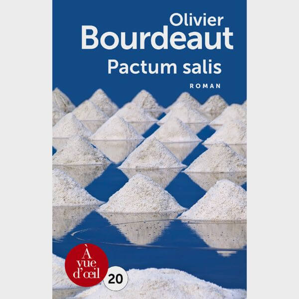 Livre gros caractères - Pactum salis - Bourdeaut Olivier