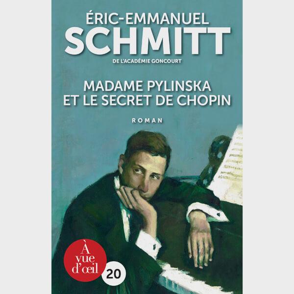 Livre gros caractères - Madame Pylinska et le secret de Chopin - Schmitt Éric-Emmanuel