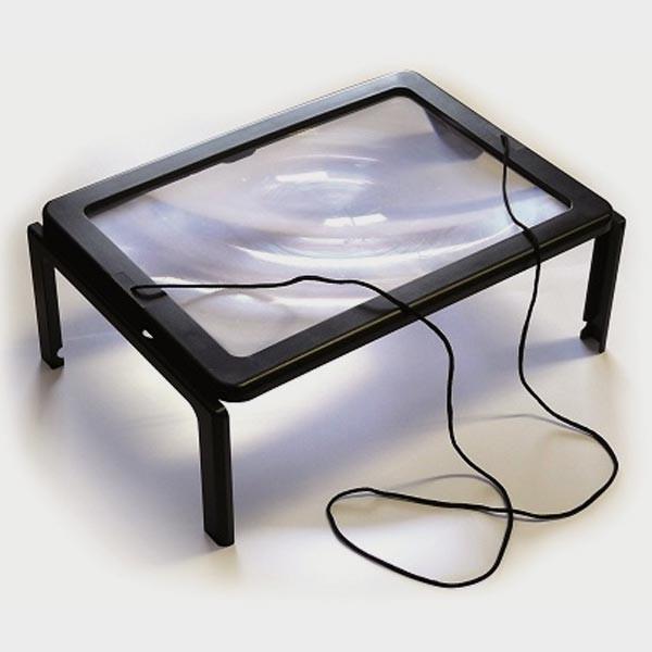 loupe de lecture de grande taille cflou. Black Bedroom Furniture Sets. Home Design Ideas