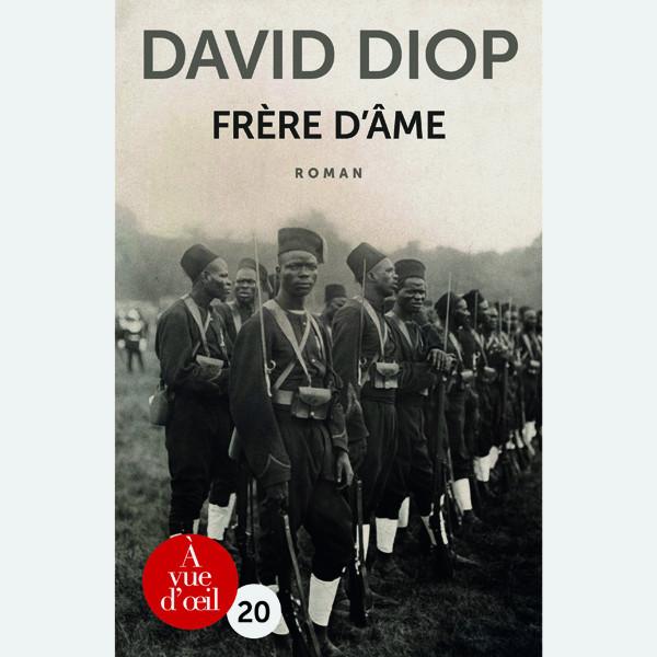 Livre gros caractères - Frère d'âme - Diop David