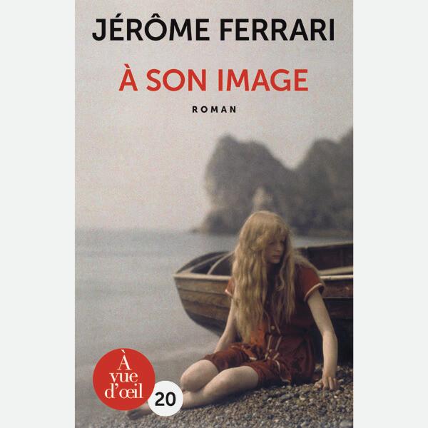 Livre gros caractères - À son image - Ferrari Jérôme