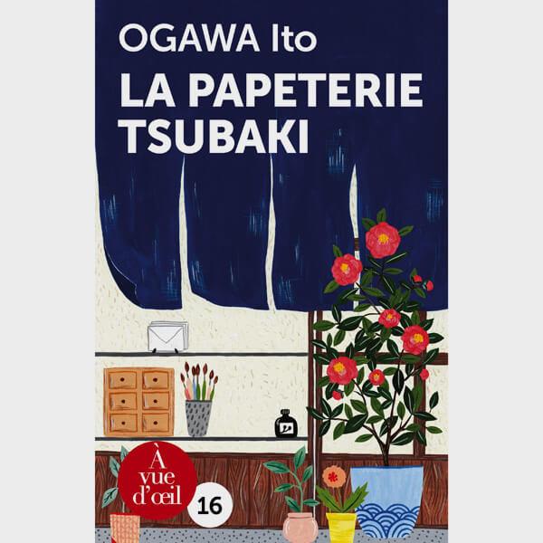 Livre gros caractères - La Papeterie Tsubaki - Ogawa Ito