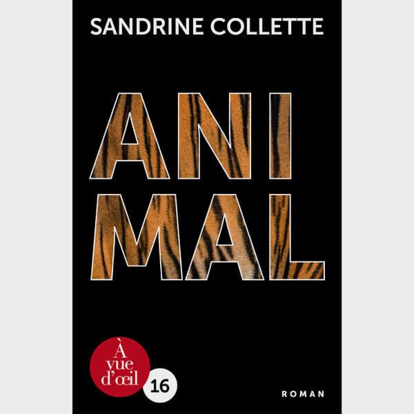Livre gros caractères - Animal - Collette Sandrine
