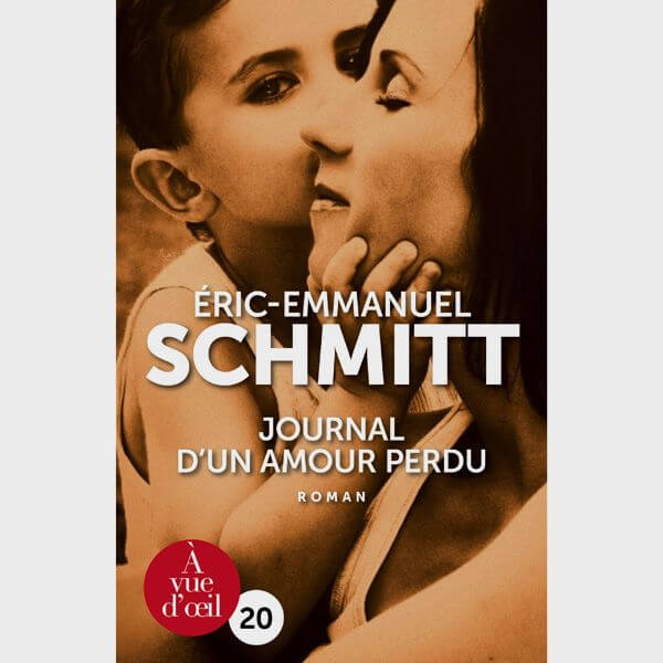 Livre gros caractères - Journal d'un amour perdu - Schmitt Éric-Emmanuel