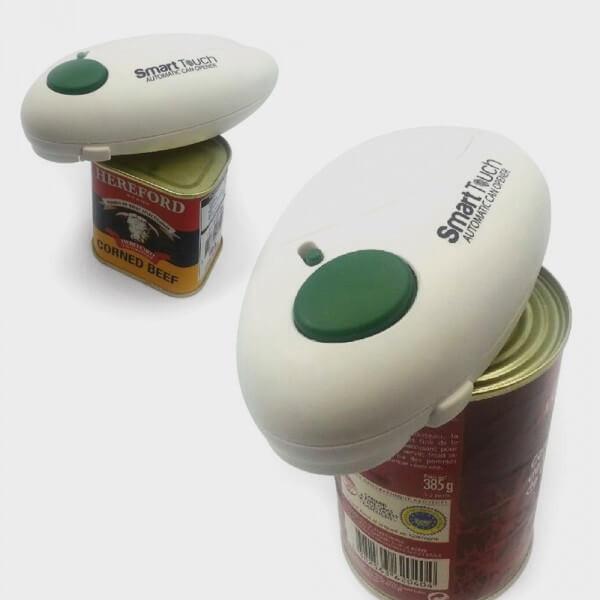 Ouvre-boîte automatique avec décapsuleur