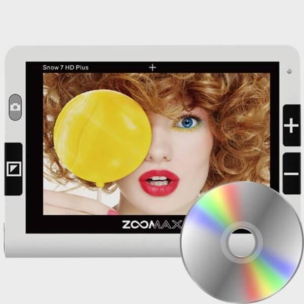 Location Loupe électronique Zoomax Snow 7 HD Plus OCR