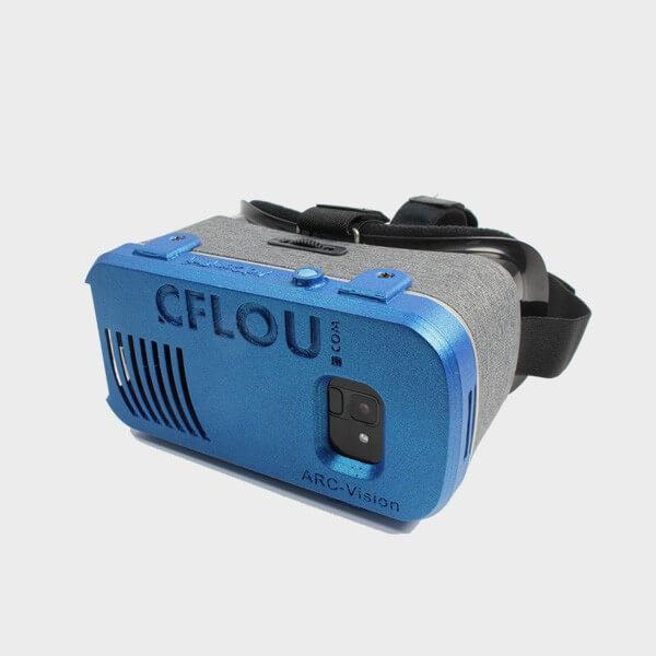 Lunette Loupe VR pour malvoyant