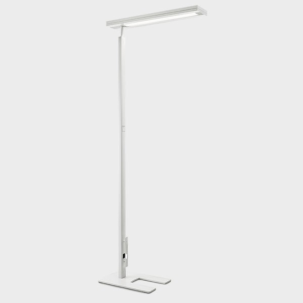Lampadaire RADIAN LUDIC Touch blanc vue complete