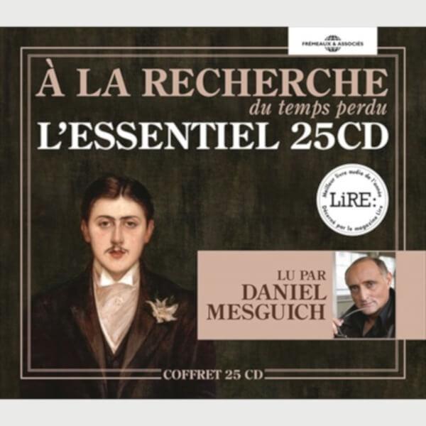 Livre audio - MARCEL PROUST - À LA RECHERCHE DU TEMPS PERDU - L'ESSENTIEL EN 25CD