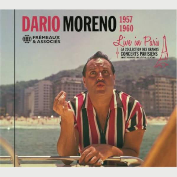 Livre audio - DARIO MORENO - LIVE IN PARIS 1957-1960
