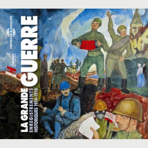 Livre audio - LA GRANDE GUERRE