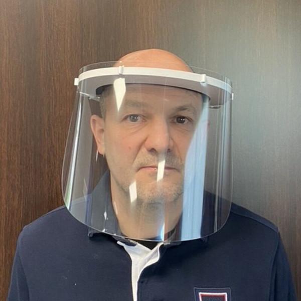 Visière de protection PVC avec elastique
