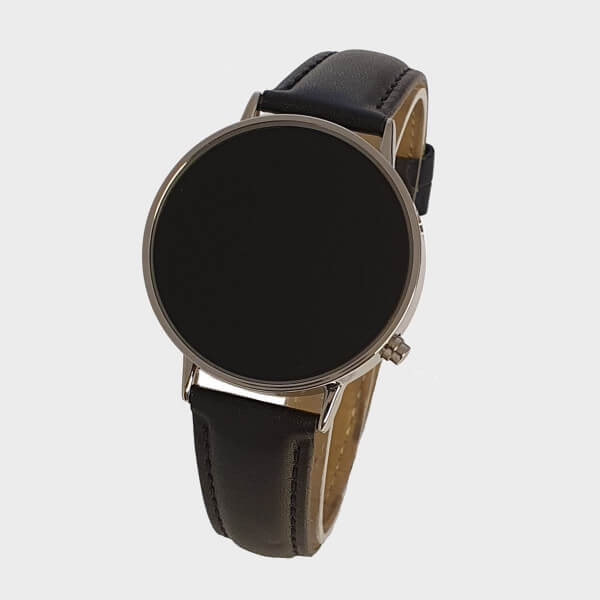 Montre parlante a surface tactile