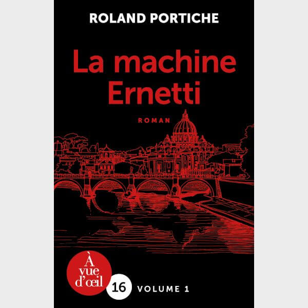 Livre à gros caractères - Portiche, Roland - La Machine Ernetti – 2 volumes