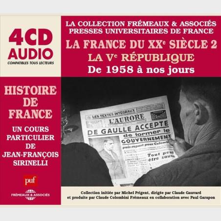 Livre audio - HISTOIRE DE FRANCE (PUF) 8 COFFRETS 33 CDS