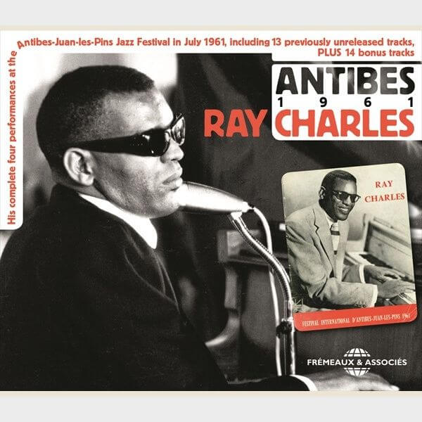 Livre audio - RAY CHARLES - IN ANTIBES 1961