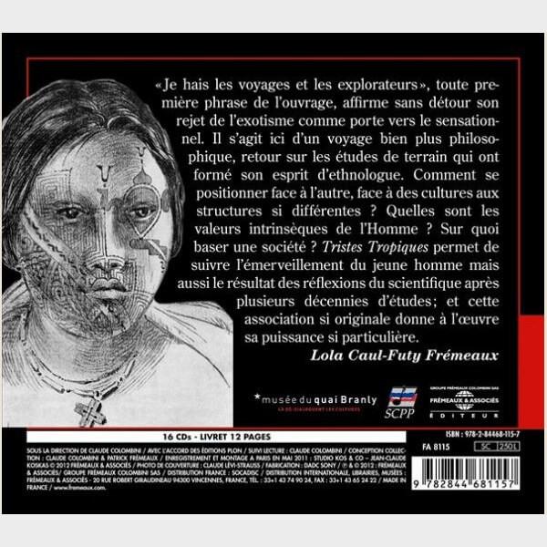 Livre audio - CLAUDE LEVI STRAUSS - TRISTES TROPIQUES