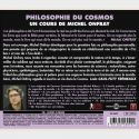 Livre audio - MICHEL ONFRAY - COSMOS (PHILOSOPHIE DU)