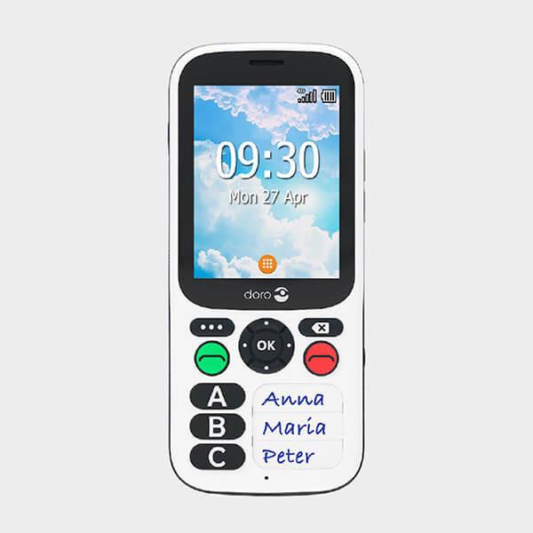 Téléphone portable simplifié Doro 780X