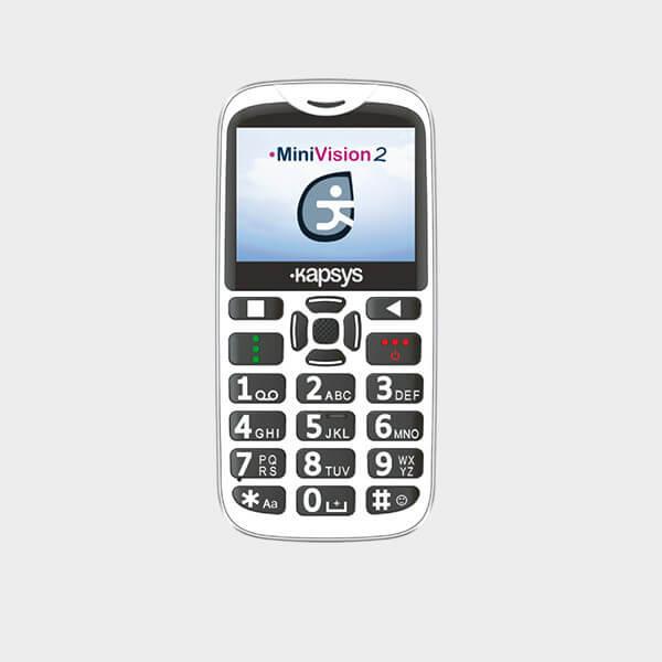 Téléphone portable vocal MiniVision 2