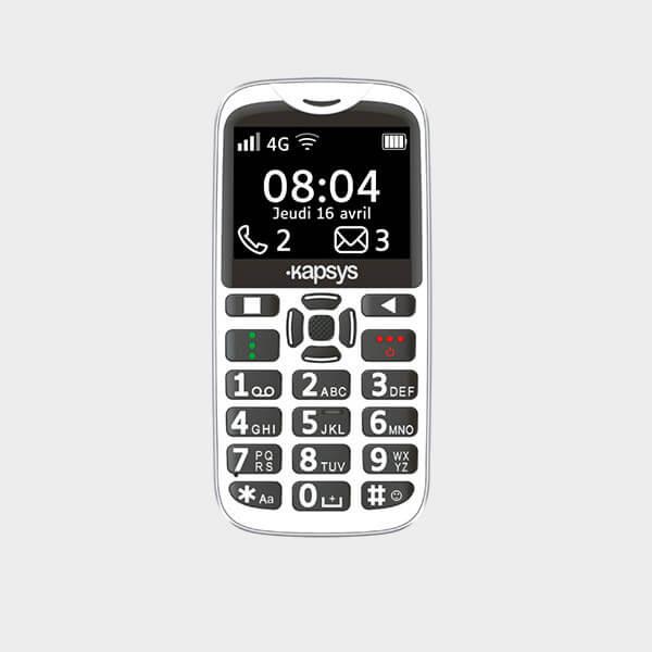 Location téléphone parlant MiniVision 2 de Kapsys