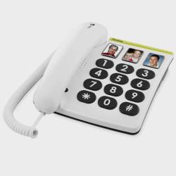 Téléphone DORO à grosses touches et 3 photos