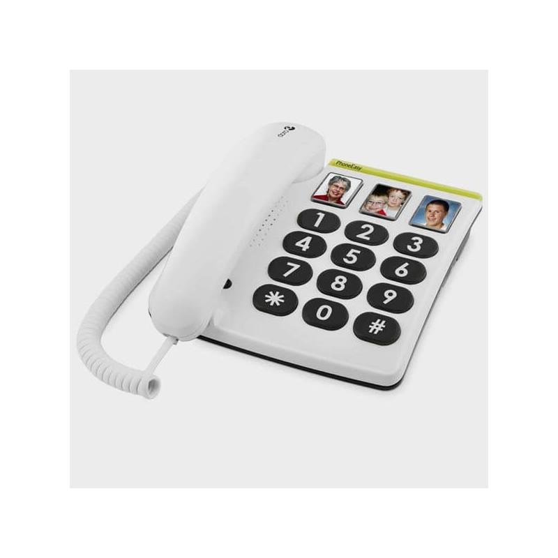 Aide visuelle à la communication : Téléphone à grosses touches