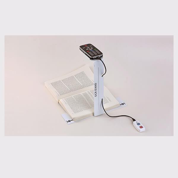 Machine à lire de poche multifonctions avec support