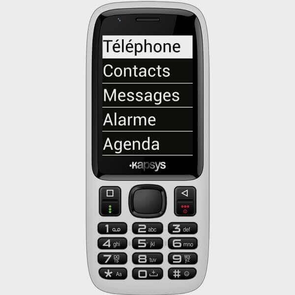 Téléphone pour aveugles