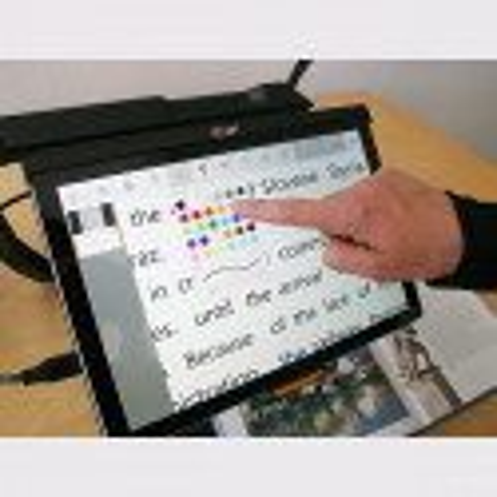 Téléagrandisseur portable Magnilink TAB couleurs