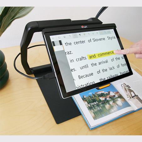 Téléagrandisseur portable Magnilink TAB aide à la lecture