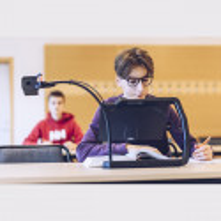 Téléagrandisseur portable Magnilink TAB pour enfants à l'école