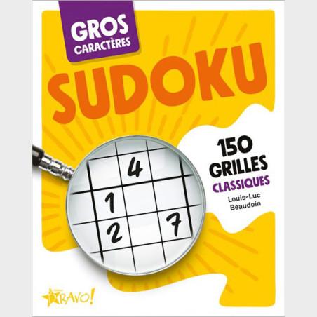 Livre de Sudoku à gros caractères