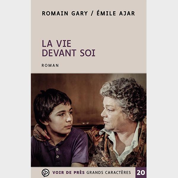 Livre à gros caractères - Romain Gary / Émile Ajar - LA VIE DEVANT SOI