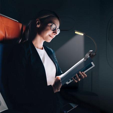 Lampe de lecture à 9 Leds exemple d'utilisation