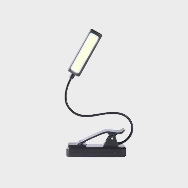 Lampe de lecture 3 couleurs à clipser