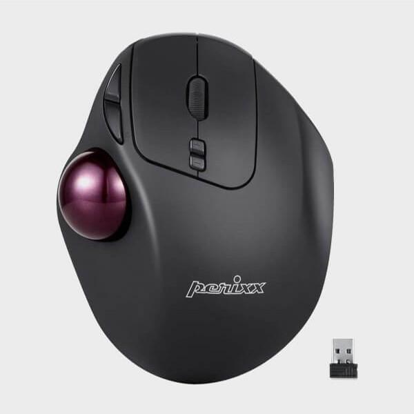 Souris ergonomique avec Trackball