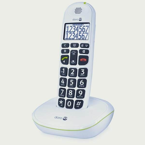 Téléphones sans fil Doro PhoneEasy 110 parlant
