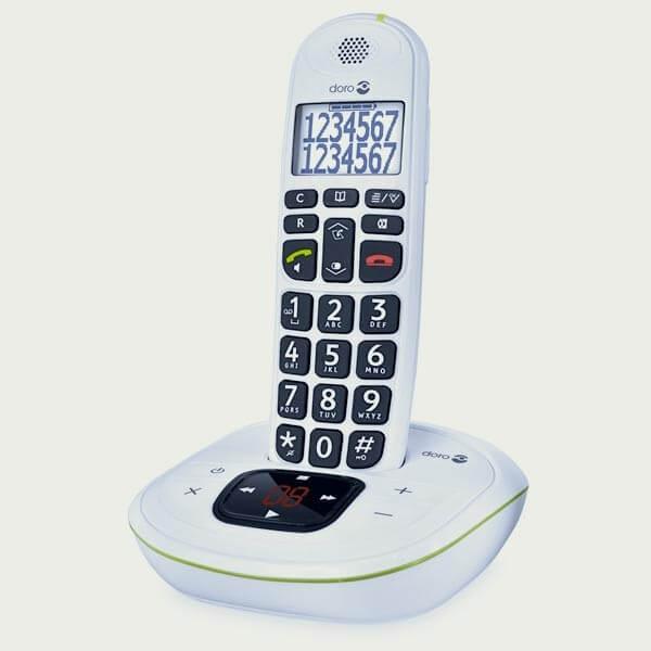 t l phone sans fil doro phoneeasy 115 parlant avec. Black Bedroom Furniture Sets. Home Design Ideas