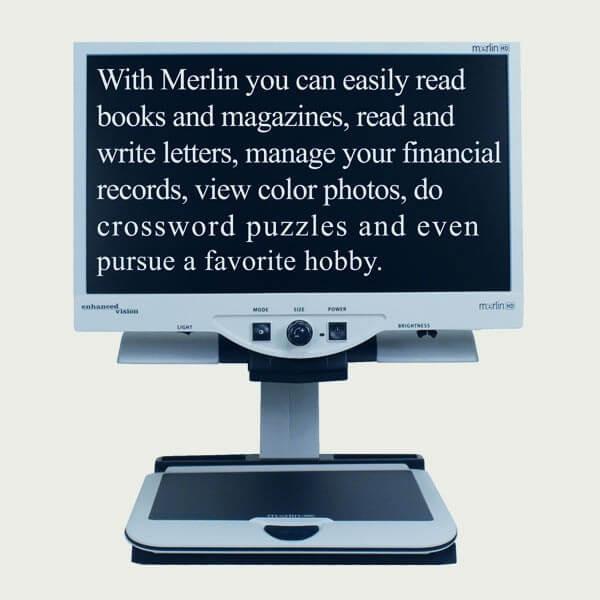 Téléagrandisseur Merlin Ultra HD