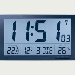 Horloge calendrier murale Radio-pilotée