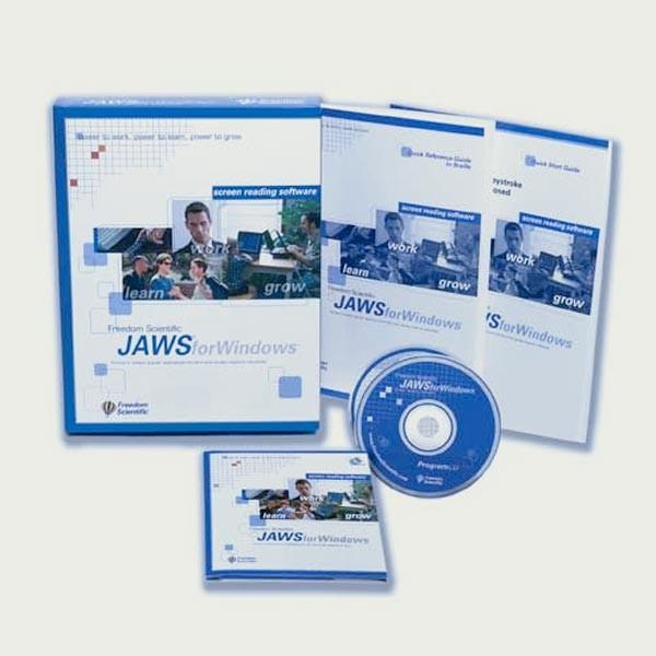 Logiciel de revue d'écran JAWS 18 Standard