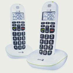 Téléphones parlants sans fil Doro 110 DUO